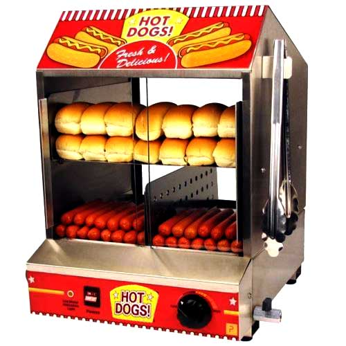 Hot Dog Machine and Steamer